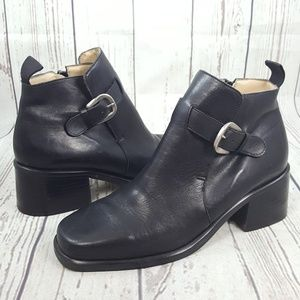 Nine West Buckle Ankle Boot